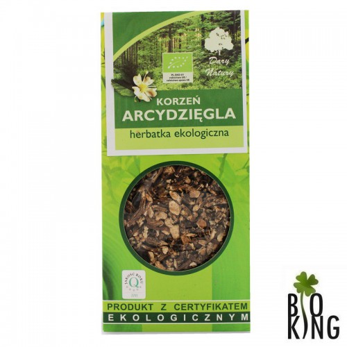 Herbata z korzenia arcydzięgla bio