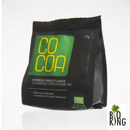 Orzechy Brazylijskie w surowej czekoladzie Bio - Cocoa
