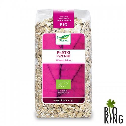 Płatki pszenne organiczne bio - Bio Planet