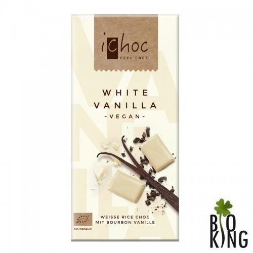 Ichoc tabliczka biała z wanilią bio - Vivani