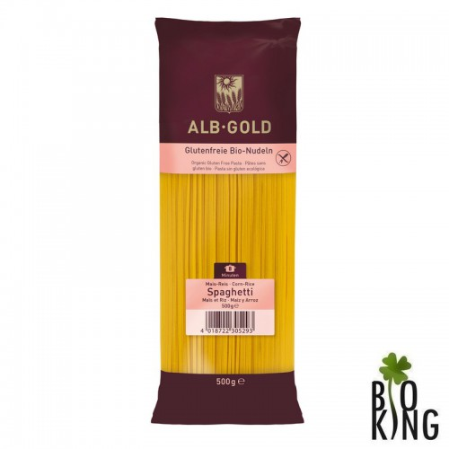 Makaron (kukurydziano - ryżowy) spaghetti bio - Alb Gold