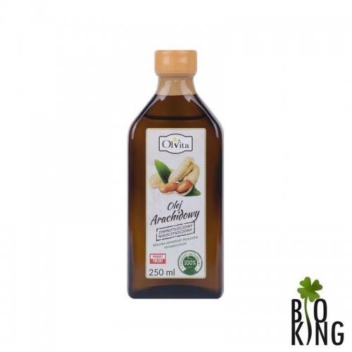 Olej arachidowy tłoczony na zimno Ol'vita