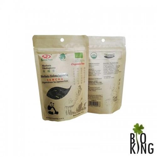 Herbata zielona japońska Sencha Solida Food