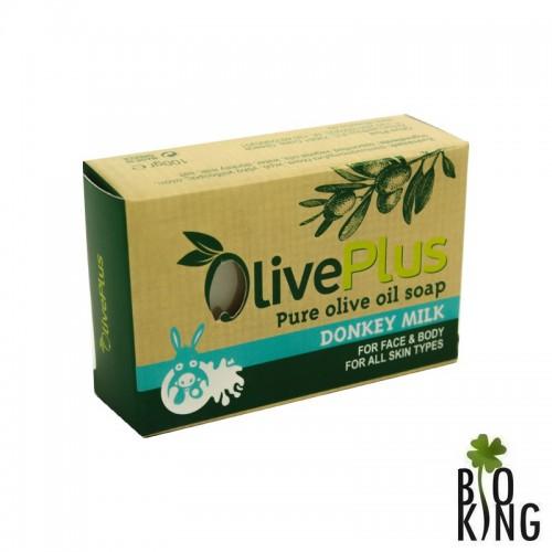 Mydło oliwkowe z oślim mlekiem OlivePlus