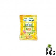 Cukierki imbir-limonka/imbir-pomarańcza Alpenbauer