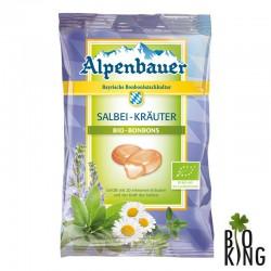 Cukierki z nadzieniem o smaku ziołowym z szałwią Alpenbauer