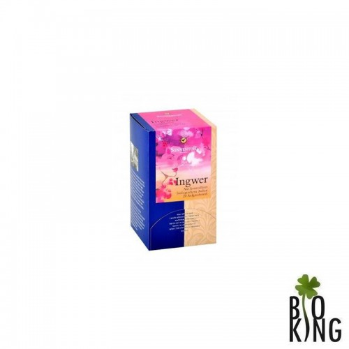 Herbata imbirowa Sonnentor w saszetkach