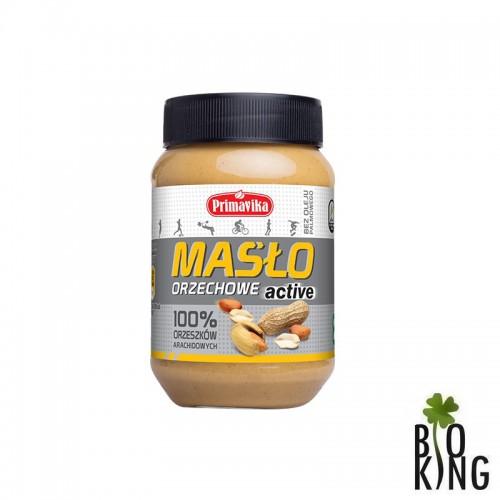 Masło orzechowe Active 100% orzechów arachidowych