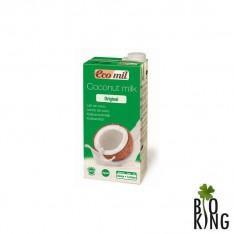 Napój kokosowy słodzony lub smakowy bio Ecomil