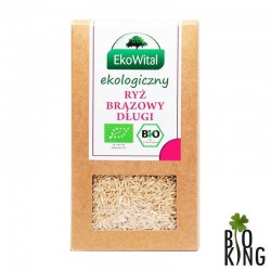Ryż brązowy długi organiczny bio EkoWital