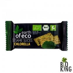 Sezamki ekologiczne z chlorellą Earth of Eco