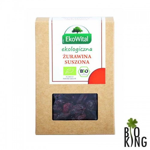 Żurawina suszona bio organiczna EkoWital