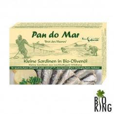 Sardynki w bio oliwie z oliwek Pan Do Mar