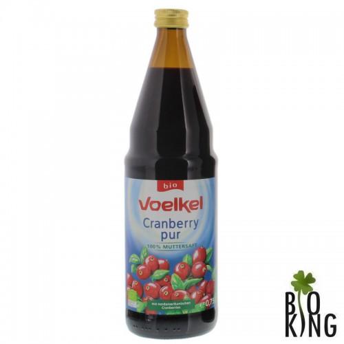 Sok z żurawiny wielkoowocowej bio 100% Voelkel