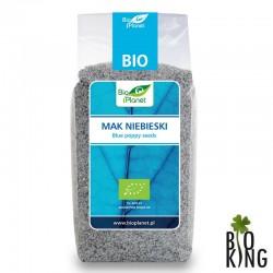 Mak niebieski ekologiczny bio Bio Planet