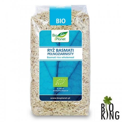 Ryż basmati pełnoziarnisty bio Bio Planet