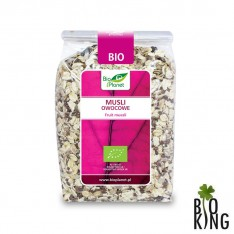 Musli owocowe organiczne bio Bio Planet