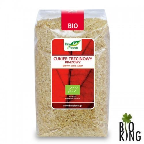 Cukier trzcinowy brązowy bio Bio Planet