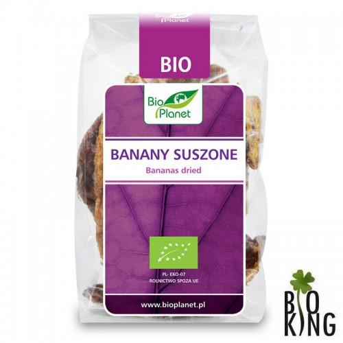 Banany suszone organiczne bio Bio Planet