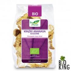 Krążki ananasa suszone bio Bio Planet