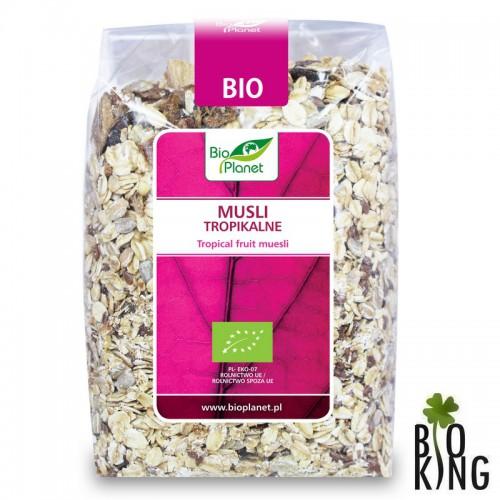 Musli tropikalne organiczne bio Bio Planet