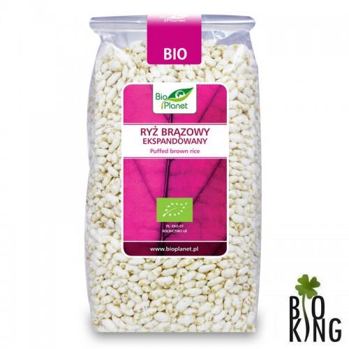 Ryż brązowy ekspandowany bio Bio Planet