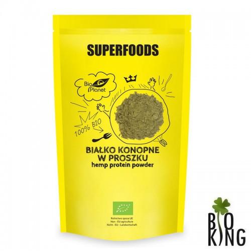 Białko konopne w proszku Bio Planet Superfoods