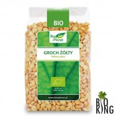 Groch żółty organiczny bio Bio Planet