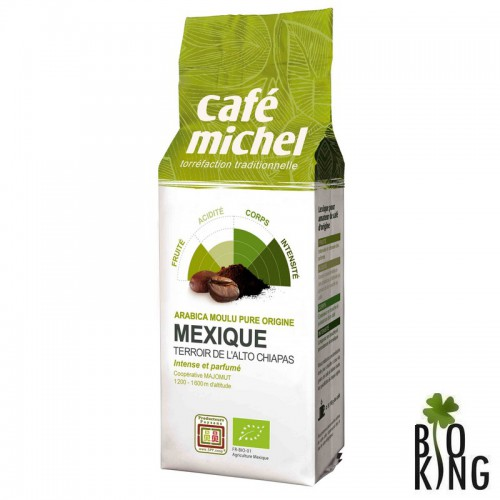 Kawa mielona Arabica Meksyk Fair Trade Cafe Michel