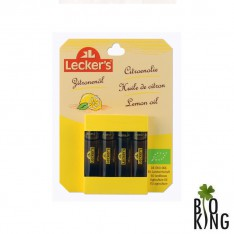 Aromat cytrynowy naturalny bio Leckers