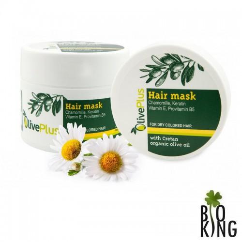 Maska do włosów z oliwą organiczna OlivePlus