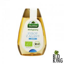 Syrop z agawy jasny bio organiczny EkoWital