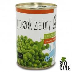 Groszek zielony konserwowy bio Bio Europa