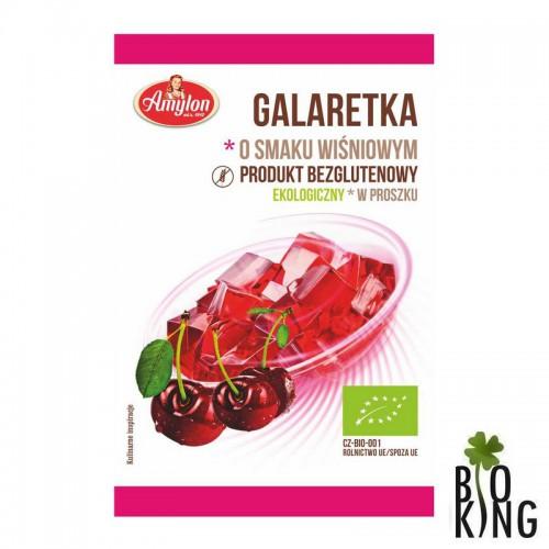 Galaretka o smaku wiśniowym bio Amylon