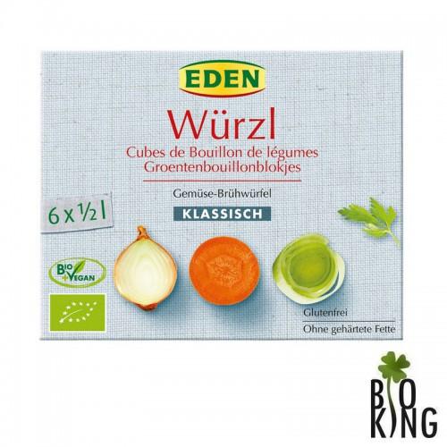 Bulion kostki warzywne bezglutenowe bio Eden