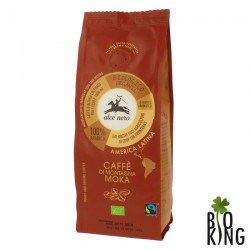 Kawa 100% arabica moka bio fair trade Alce Nero