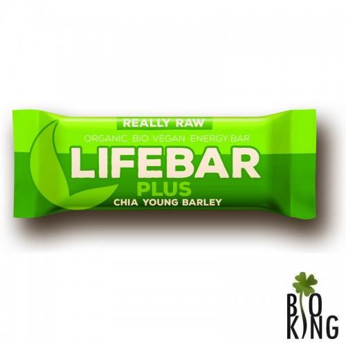 Baton z chia i jęczmieniem raw bez glutenu LifeBar