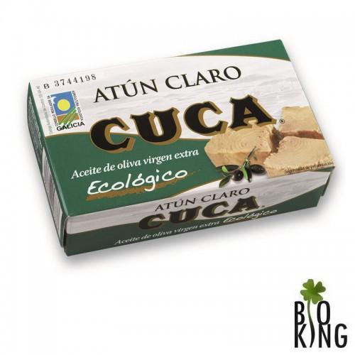 Tuńczyk żółtopłetwy bio w oliwie z oliwek Cuca