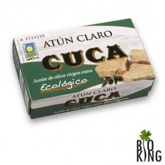 Tuńczyk żółtopłetwy w bio oliwie z oliwek Cuca