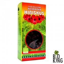 Herbatka hibiskus bio ekologiczna Dary Natury