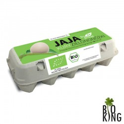 Jaja od kury zielononóżki bio Bio Planet