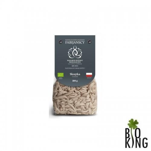 Makaron skrętka z ryżu białego bio Fabijańscy