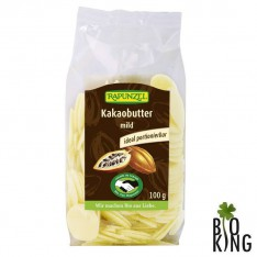 Tłuszcz kakaowy w krążkach bio Rapunzel
