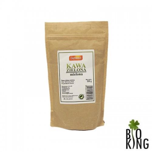 Kawa zielona mielona brazylijska DietWital