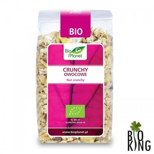 Crunchy owocowe bio ekologiczne BioPlanet