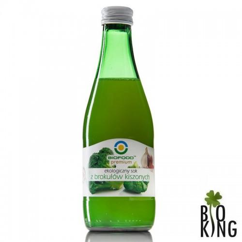 Sok z brokułów kiszonych bio BioFood