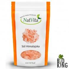 Sól różowa himalajska niejodowana NatVita