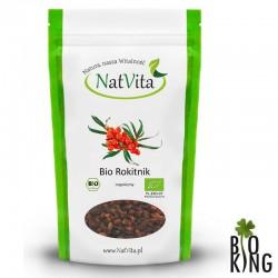 Rokitnik owoce suszone organiczne NatVita