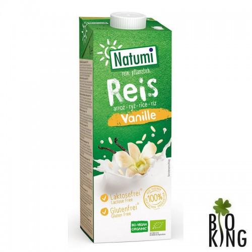 Napój ryżowo-waniliowy bio bez glutenu Natumi