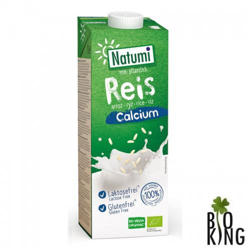 Napój ryżowy z wapniem z alg morskich bio Natumi